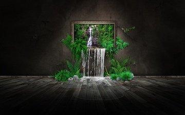picture, room, creative