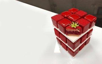 сладость, десерт, глазурь, пирожное, тортик, вкусняшка, ягодка