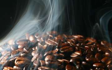 зерна, кофе
