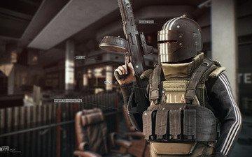 пулемет, босс, дикий, r.2028, russia 2028, рпк-16, scav, battlestate games, escape from tarkov, killa