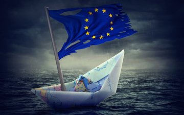 water, flag, map, boat, crisis, flag of europe