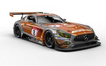 auto, motorsports, motorsport, racing car, two thousand nineteen, nurburgring, nürburgring, mercedes-amg gt3, mercedes - benz, team black falcon
