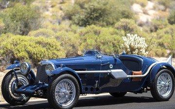 machine, retro, auto, roadster, bugatti, special, riley 12_4
