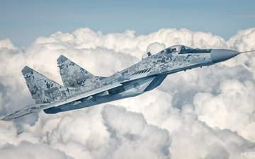 clouds, pilot, fighter, lantern, bbc, the mig-29, slovakia, photography, cockpit, hesja, air-art