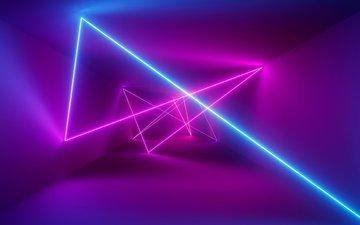 light, rays, pattern, ray, the volume, pass, laser