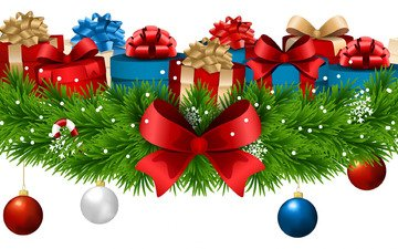 new year, tree, balls, decoration, snowflakes, gifts, bow, happy