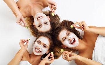 smile, beauty, women, fun, friend, creams