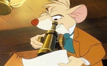 мультфильм, великий мышиный сыщик, the great mouse detective