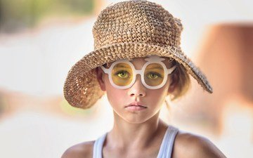 очки, девочка, шляпка, julia altork, charleston