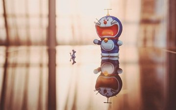 кот-робот, дораэмон