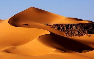 nature, sand, desert, barkhan, algeria