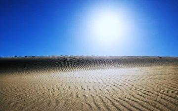 the sun, nature, landscape, sand, desert, egypt