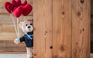 медведь, игрушка, сердце, любовь, сердечки, медвежонок, плюшевый медведь