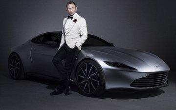 actor, car, aston martin, daniel craig, дэниел крэйг