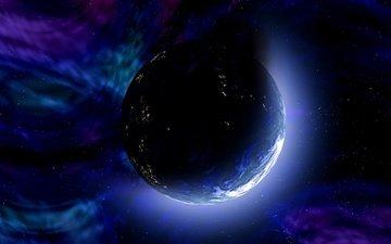 космос, звезды, планета, вселенная