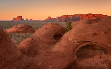 горы, скалы, пейзаж, сша, нью-мексико, штат аризона
