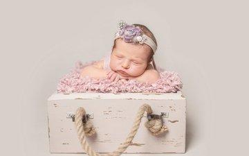 сон, дети, девочка, ребенок, младенец, спящий, грудной ребёнок