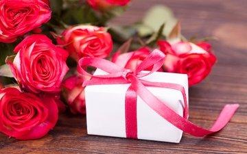 цветы, розы, любовь, букет, розовые, подарок, романтик, валентинов день