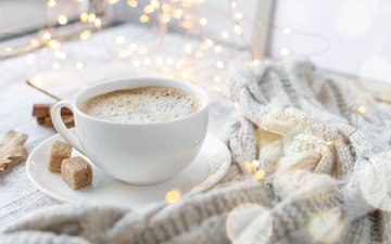осень, кофе, чашка, уют, шарф, elizaveta elesina