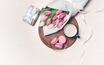 кофе, букет, чашка, подарок, * anastasia