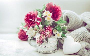 цветы, ваза, пионы, декор, @pvproductions
