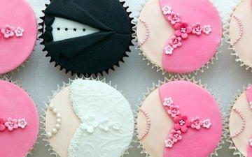 свадьба, сладкое, десерт, кексы, маффины, капкейки