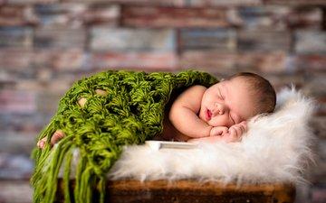 дети, ребенок, младенец, спящий, грудной ребёнок