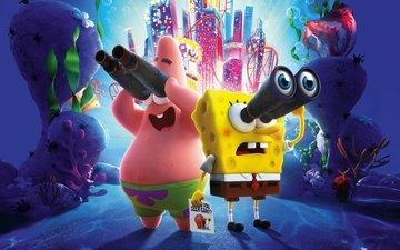 губка боб, патрик, the spongebob movie: sponge on the run