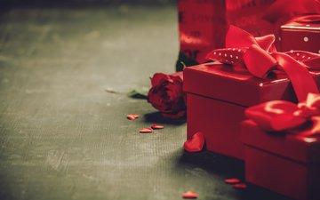 розы, подарки, поздравление, букет, подарок, сердечки, день святого валентина, natalia klenova