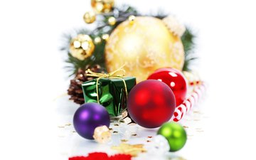 новый год, шары, праздник, рождество, елочные игрушки, новогодние украшения