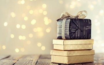 новый год, подарки, лента, праздник, коробки, valeria aksakova