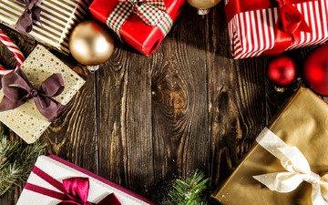 новый год, украшения, подарки, рождество
