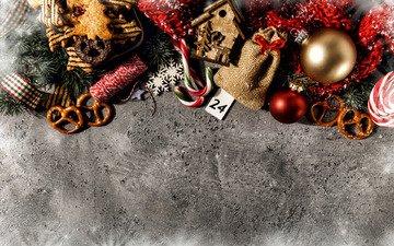 новый год, украшения, рождество, печенье, новогодние украшения