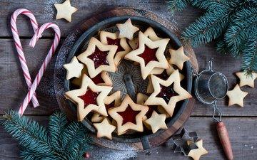 новый год, елка, ветки, джем, ель, праздники, рождество, сладкое, печенье, выпечка, десерт, леденцы, встреча нового года, еловая ветка, anna verdina, елочная