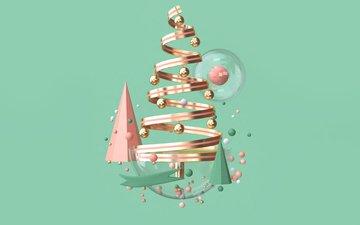 новый год, елка, праздник, рождество, новогодние украшения