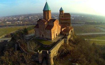 архитектура, крепость, памятник, грузия, xvi век, царская, кахетия