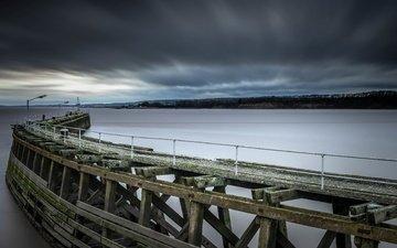 берег, мост