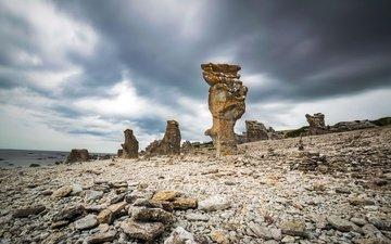 камни, берег, море